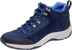 Vionic Women's Action Cypress Trail Walker Hiking Boots Navy