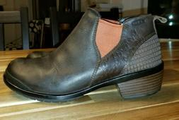 Keen Women's Ankle Boots Brown Leather Sz 7 M EURO: 37.5