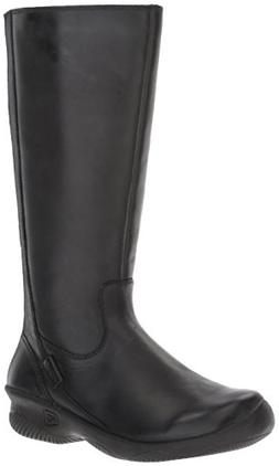 KEEN Women's Baby Bern ii Wide-w Rain Boot, Black, 9.5 M US