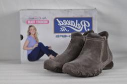 Women's Skechers Bikers-Londoner Ankle Boots Chocolate