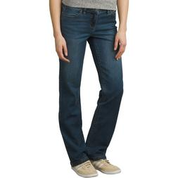 Prana Women's boot cut Jeans, Geneva size 6, regular inseam,