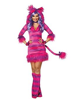 Dreamgirl Women's Colorful Magic Cat Storybook Costume Dress