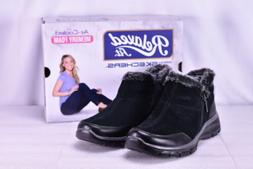 Women's Skechers Easy Going- Zip It Ankle Boots Black