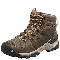 Keen Women's Gypsum Ii Mid Wp-w Boot,Corn Stock/Gold Coral,8