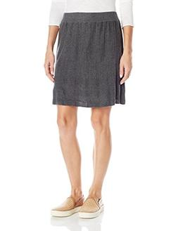 prAna Women's Harper Skirt, Medium, Charcoal