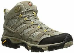 Merrell Women's Moab 2 Vent Mid Hiking Boot, Taupe, Size 10.