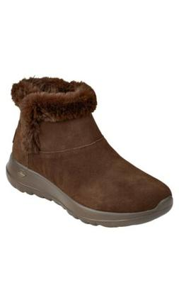 Skechers Women's On The Go Boots Color Chocolate Size 7 NIB