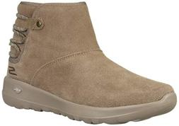 Skechers Women's ON-The-GO Joy 15502 Chukka Boot, Dark Taupe