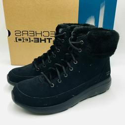 Skechers Women's On-the-Go Winter Chill Water Resistent Sued