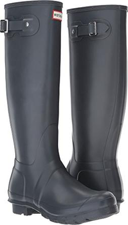 Hunter Women's Original Tall Dk Slate Rain Boots - 8 B US