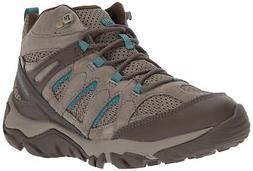 Merrell Women's Outmost Mid Vent WTPF Hiking Boot Boulder 9