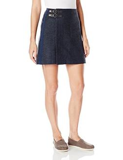 prAna Women's Quincy Skirt, Medium, Nautical