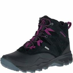 "Merrell Women's Thermo Shiver 6"" Waterproof Snow Boots Black"