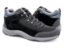 Vionic Womens Black Gray Cypress Lace Up Athletic Light Hike