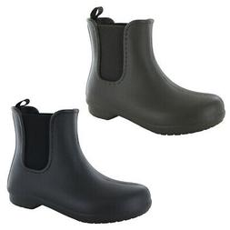 Crocs Womens Freesail Chelsea Waterproof Boot Shoes