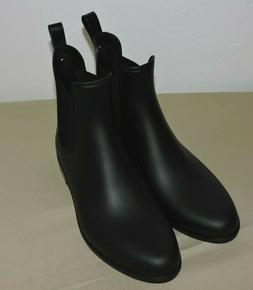 Sam Edelman Womens Tinsley Black Matte Rainboots Size 9 M