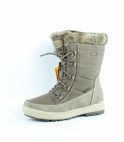 Skechers Womens Woodland Dark Taupe Snow Boots Size 8
