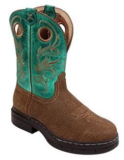 Twisted X Work Boots Womens Western EZ Rider ST Green WEZS00